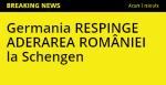 breaking news realitatea tv schengen veto germania