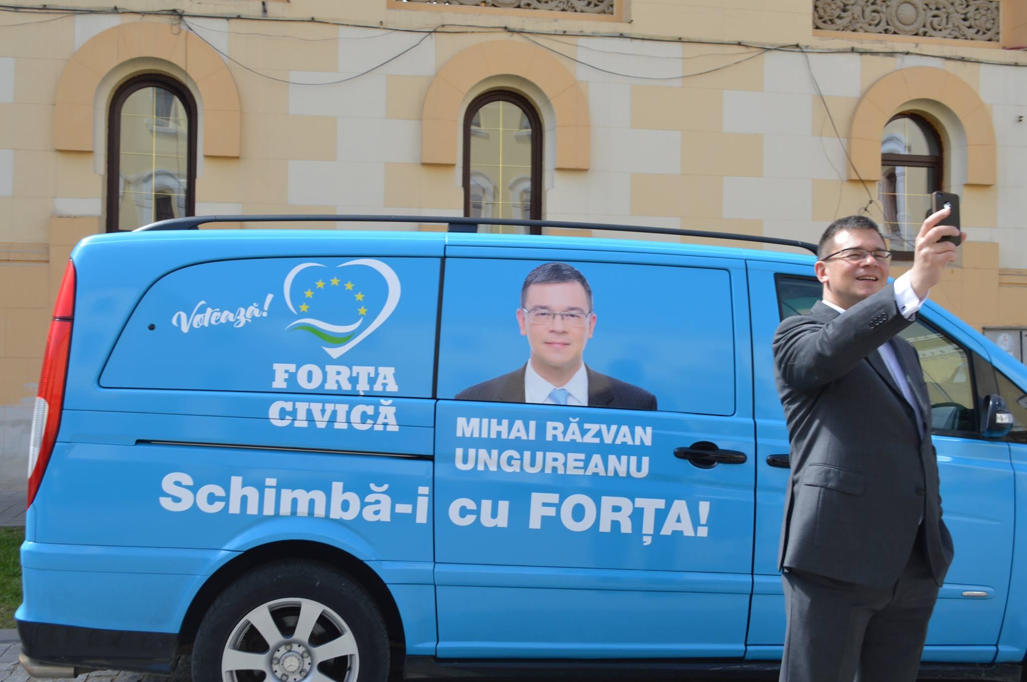 Mihai Razvan Ungureanu - Forta Civica