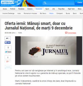 jurnalul national, antena 3, protie, marketing