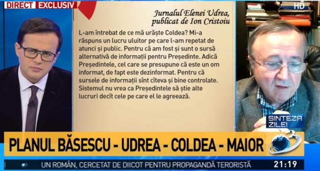 Jack Cristoiu de pe vrejul de fasole şi băşinile duamnei Udrea : Jurnalul condamnatei blonde  Cristoiu-gadea-udrea